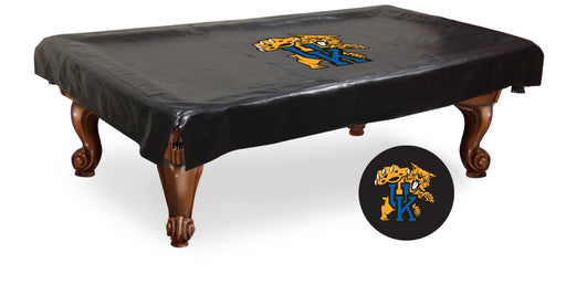 University of Kentucky Cat Logo Pool Table Cover | Man Cave Authority | BTCUKYCat