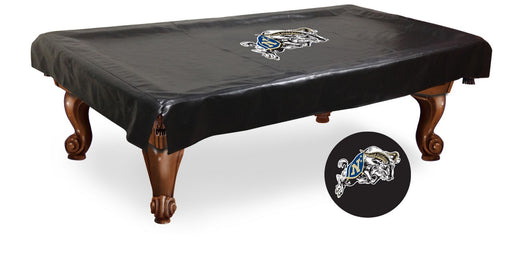 US Naval Academy Pool Table Cover | Man Cave Authority | BTCUSNavA