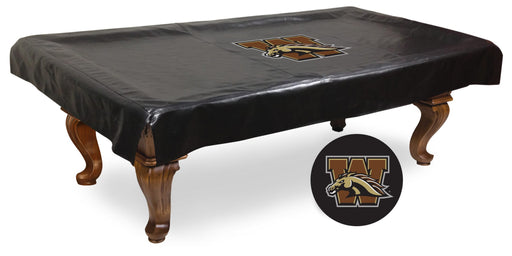 Western Michigan University Pool Table Cover | Man Cave Authority | BTCWestMI