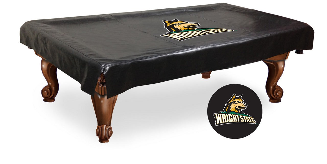 Wright State University Pool Table Cover | Man Cave Authority | BTCWrtStU