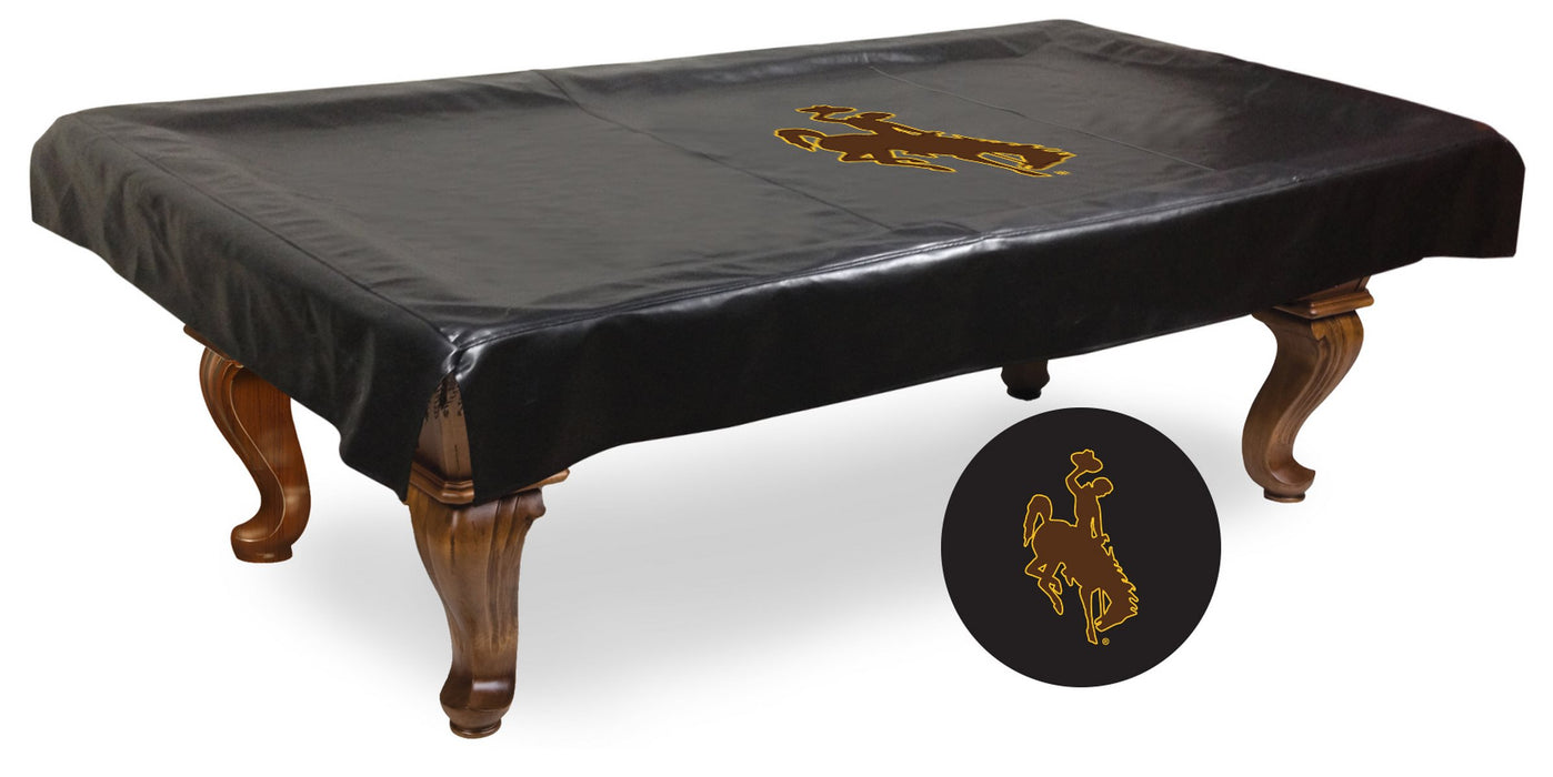 University of Wyoming Pool Table Cover | Man Cave Authority | BTCWymng