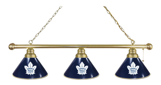 Toronto Maple Leafs 3 Shade Lamp | Man Cave Authority | BL3BRTorMpl