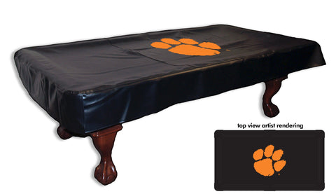 Clemson Pool Table Cover