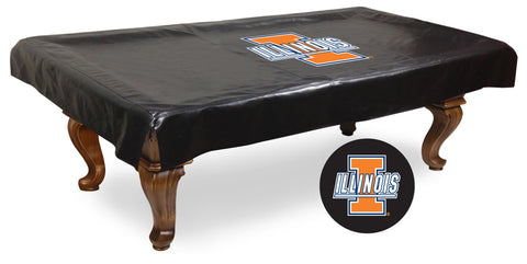 University of Illinois Pool Table Cover