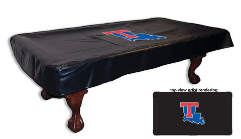 Louisiana Tech University Pool Table Cover