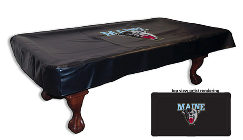 University of Maine Pool Table Cover