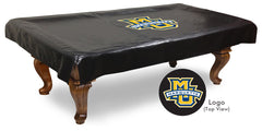 Marquette University Pool Table Cover | Man Cave Authority | BTCMrqtte