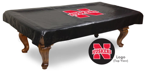 University of Nebraska Pool Table Cover