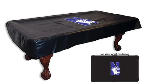 Northwestern University Pool Table Cover
