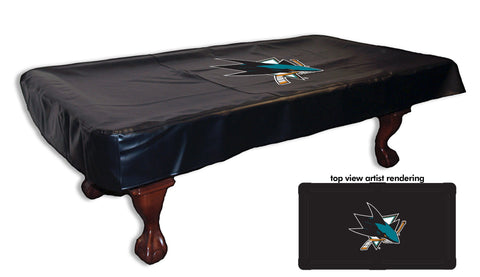 San Jose Sharks Pool Table Cover