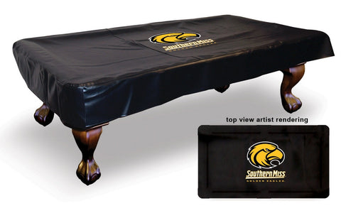 University of Southern Mississippi Pool Table Cover