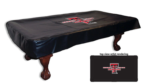 Texas Tech University Pool Table Cover