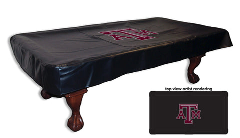 Texas A&M Pool Table Cover