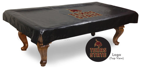 Texas State University Pool Table Cover