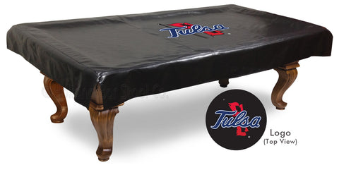 University of Tulsa Pool Table Cover
