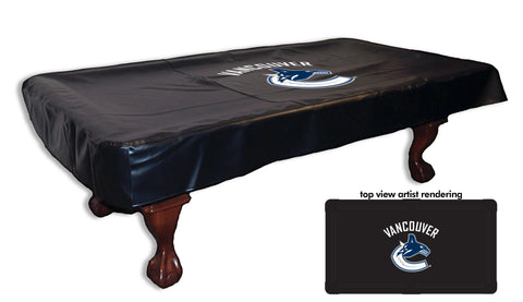 Vancouver Canucks Pool Table Cover
