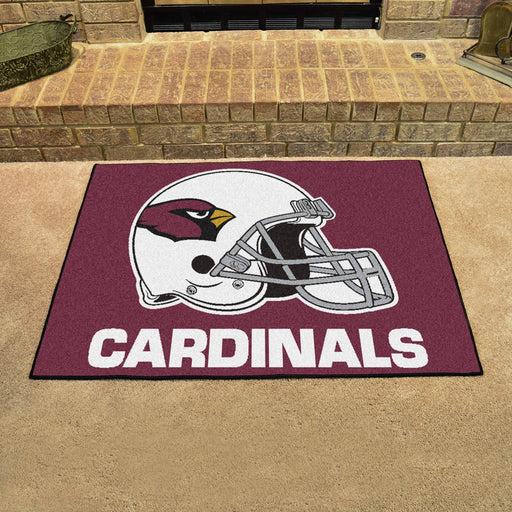 Arizona Cardinals All Star Mat | Man Cave Authority | 5664 View 2