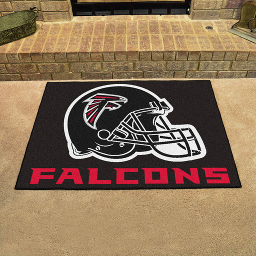Atlanta Falcons All Star Mat | Man Cave Authority | 5667 View 2