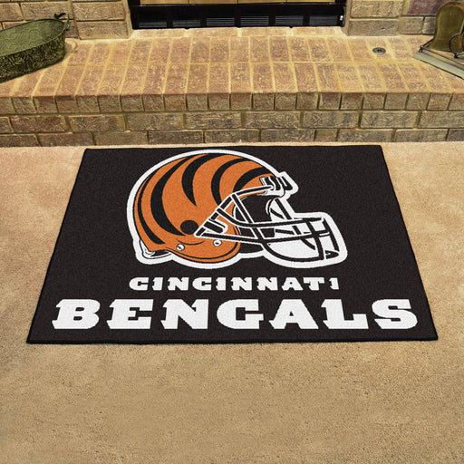 Cincinnati Bengals All Star Mat | Man Cave Authority | 5687 View 2