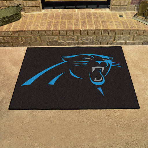 Carolina Panthers All Star Mat | Man Cave Authority | 5694 View 2