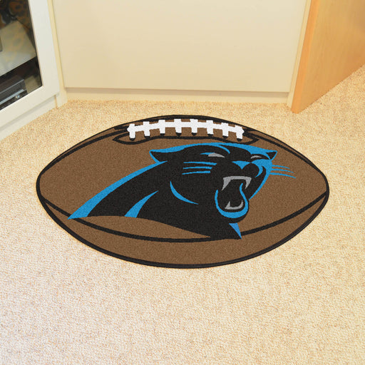 Carolina Panthers Football Mat