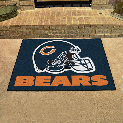 Chicago Bears All Star Mat | Man Cave Authority | 5709 View 2