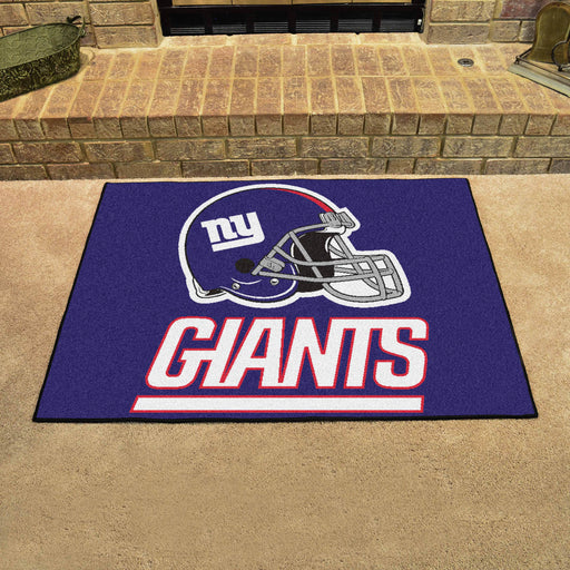 New York Giants All Star Mat | Man Cave Authority | 5803 View 2