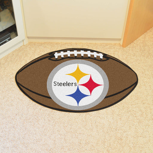 Pittsburgh Steelers Football Mat