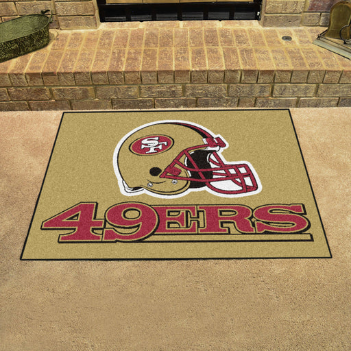 San Francisco 49ers All Star Mat