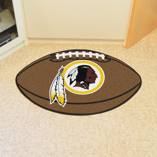 Washington Redskins Football Mat