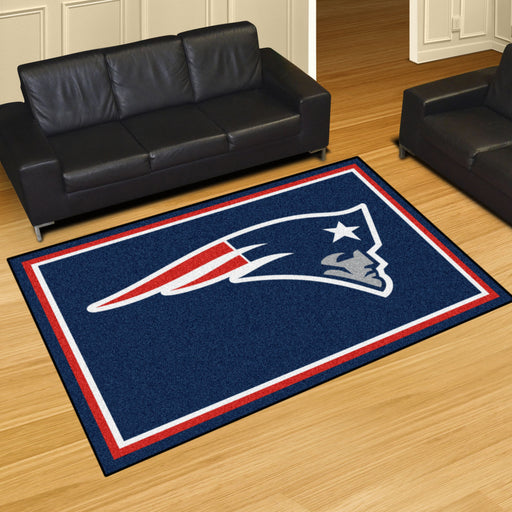 New England Patriots 4x6 Rug | Man Cave Authority | 6268 View 2