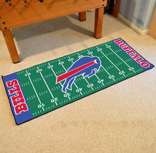 Buffalo Bills Football Field Runner