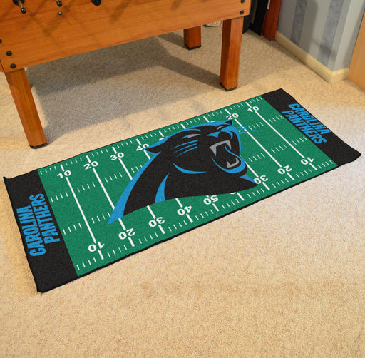 Carolina Panthers Football Field Runner