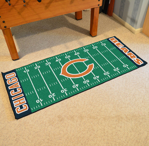 Chicago Bears Football Field Runner