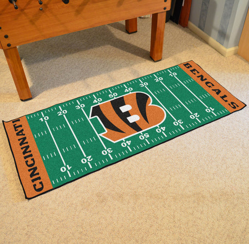 Cincinnati Bengals Football Field Runner