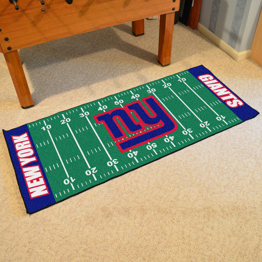New York Giants Football Field Runner