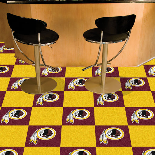 Washington Redskins Team Carpet Tiles