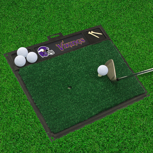 Minnesota Vikings Golf Hitting Mat