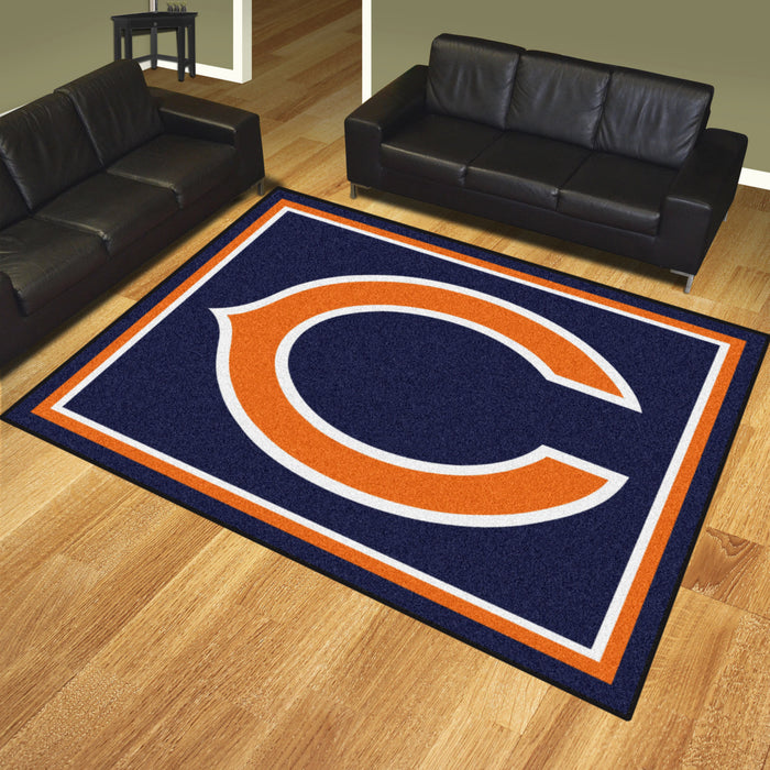 Chicago Bears 8x10 Rug | Man Cave Authority | 17477 View 2
