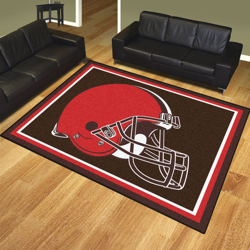Cleveland Browns 8x10 Rug | Man Cave Authority | 17479 View 2