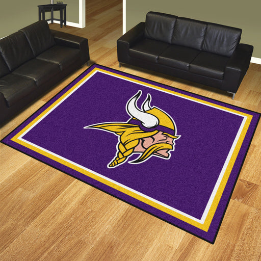 Minnesota Vikings 8x10 Rug | Man Cave Authority | 17488 View 2