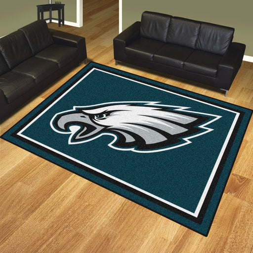 Philadelphia Eagles 8x10 Rug | Man Cave Authority | 17494 View 2