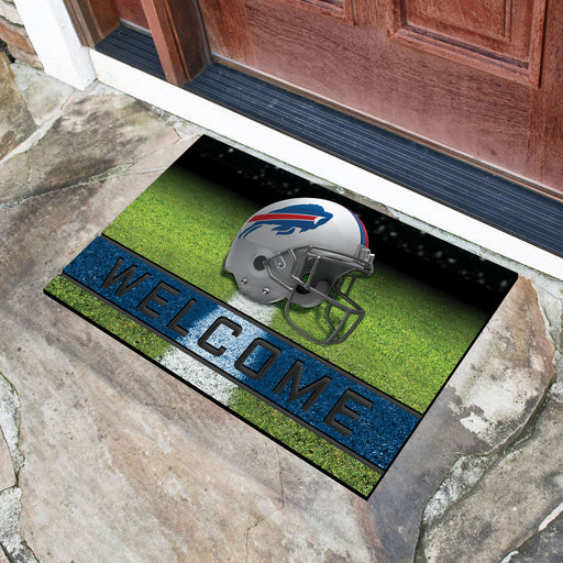 Buffalo Bills Crumb Rubber Door Mat