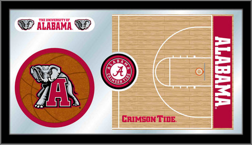 University of Alabama Basketball Bar Mirror | Man Cave Authority | MBsktAlbama