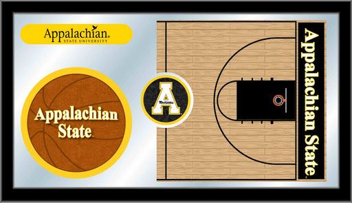 Appalachian State University Basketball Bar Mirror | Man Cave Authority | MBsktAppStU