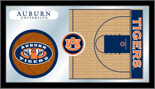 Auburn University Basketball Bar Mirror | Man Cave Authority | MBsktAuburn