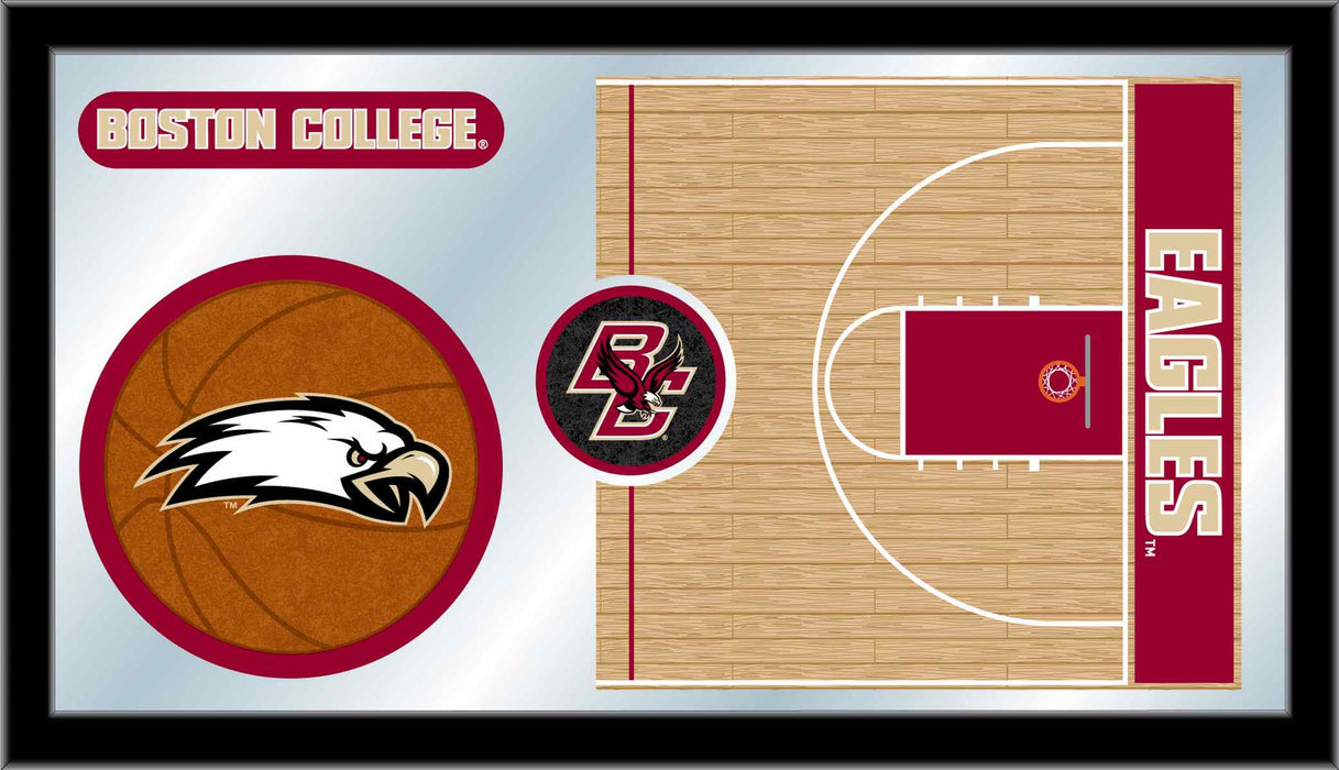 Boston College Basketball Bar Mirror | Man Cave Authority | MBsktBostnC