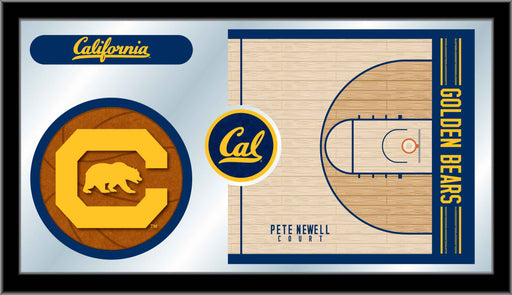University of California (Cal) Basketball Bar Mirror | Man Cave Authority | MBsktCal-Un
