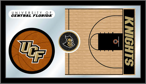 University of Central Florida Basketball Bar Mirror | Man Cave Authority | MBsktCenFla