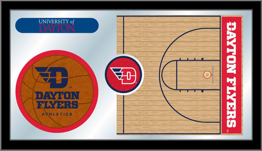 University of Dayton Basketball Bar Mirror | Man Cave Authority | MBsktDytnUn